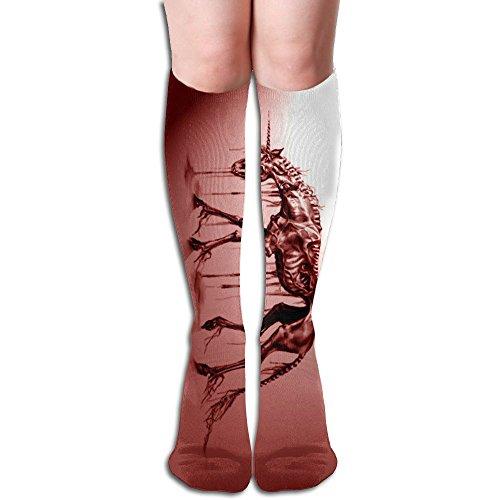 The Sticky Cat Unisex Bloody Unicorn Skeleton Running Socks Sports Socks Football Socks 19.69 - Bloody Unicorns