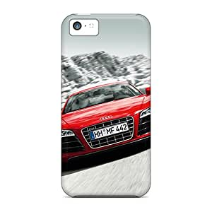 Protective Cases With Fashion Design For Iphone 5c (audi R8)