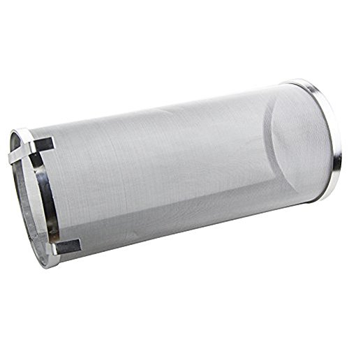 Hop Spider 300 Micron Mesh Stainless Steel Hop Filter Strainer for Home Beer Brewing Kettle by TIZZE (Image #1)