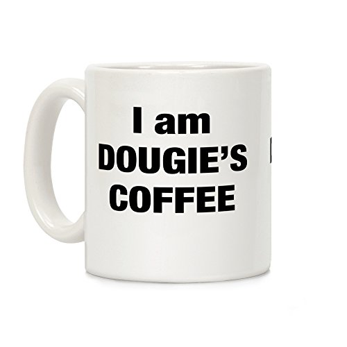I Am Dougie's Coffee White 11 Ounce Ceramic Coffee Mug by LookHUMAN (Twin Peaks Coffee)
