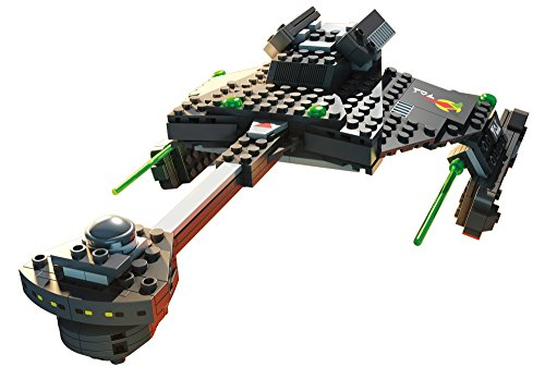 Mega Bloks Star Trek Klingon D7 Battle Cruiser Collector Construction