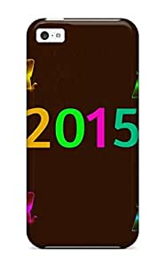 TYH - Cute Appearance Cover/tpu Vgrkltp2035zUNNj Hope Your New Year Is Colourful Case For Iphone 5/5s phone case
