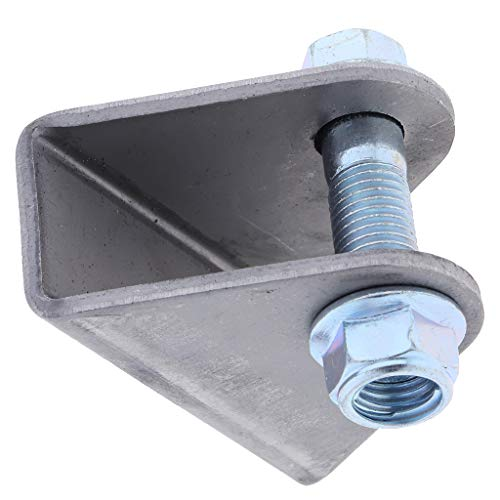 Baosity Bent,Ture Shock Bracket Pair - C-Silver