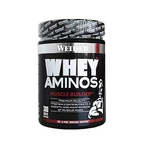 Weider Whey Aminos - Aminos Proteínas, 300 tabletas para 60 ...