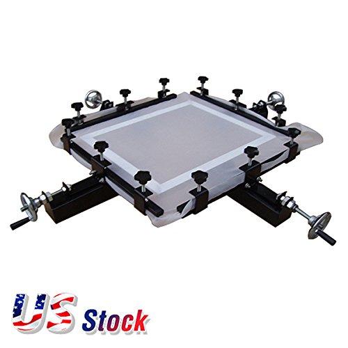 US Stock-High Precise 24'' x 24'' Manual Screen Stretching Machine Screen Printing Stretcher by Ving