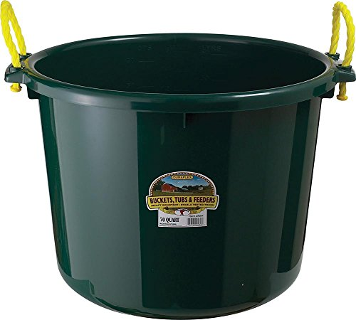Little Giant Muck Tub, 70-Quart, Green
