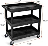 Stand Steady Tubstr 3 Shelf Utility Cart | Heavy