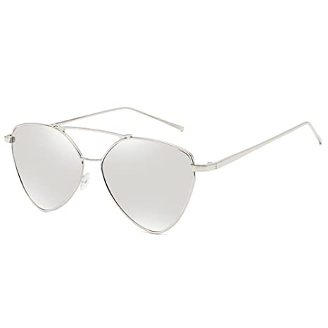 34af0e3ad8 Color: Aoligei Europeos y Americanos con Ojo de Gato Gafas de Sol señora  Gafas Anti-UV