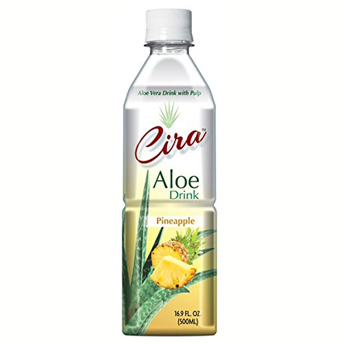 Cira Aloe Vera Drink With Pulp 16.9 oz Pineapple
