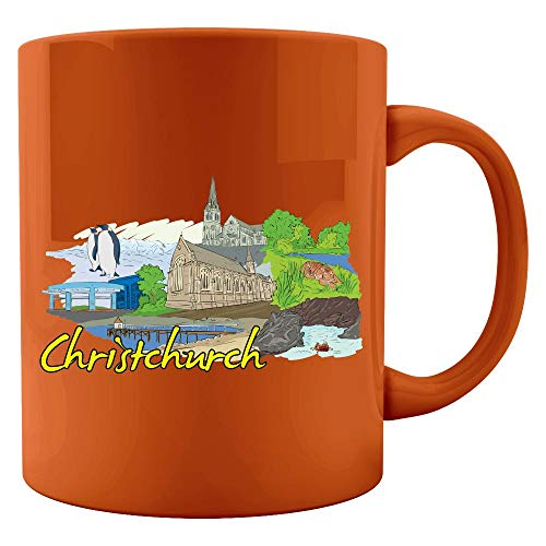 Christchurch New Zealand - Beautiful Places Around The World - Colored Mug