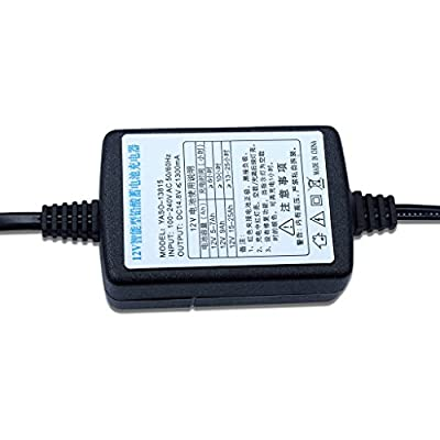 12V Sealed Lead Acid (SLA) Battery Charger 1300mA, with Short Circuit Protection: Automotive