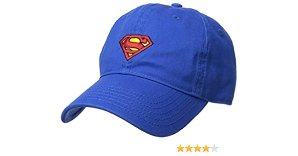5fc72009e752b Amazon.com  DC Comics Superman Baseball Cap  Clothing