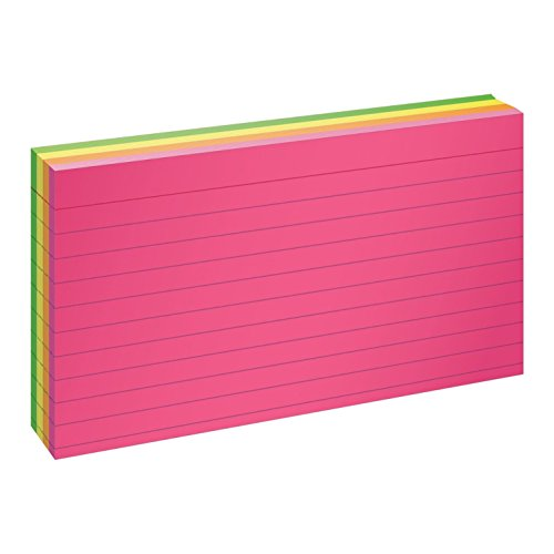 Oxford Glow Index Cards, 3