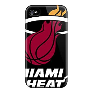 High-quality Durable Protection Cases For Iphone 6 Plus(miami Heat Logo)