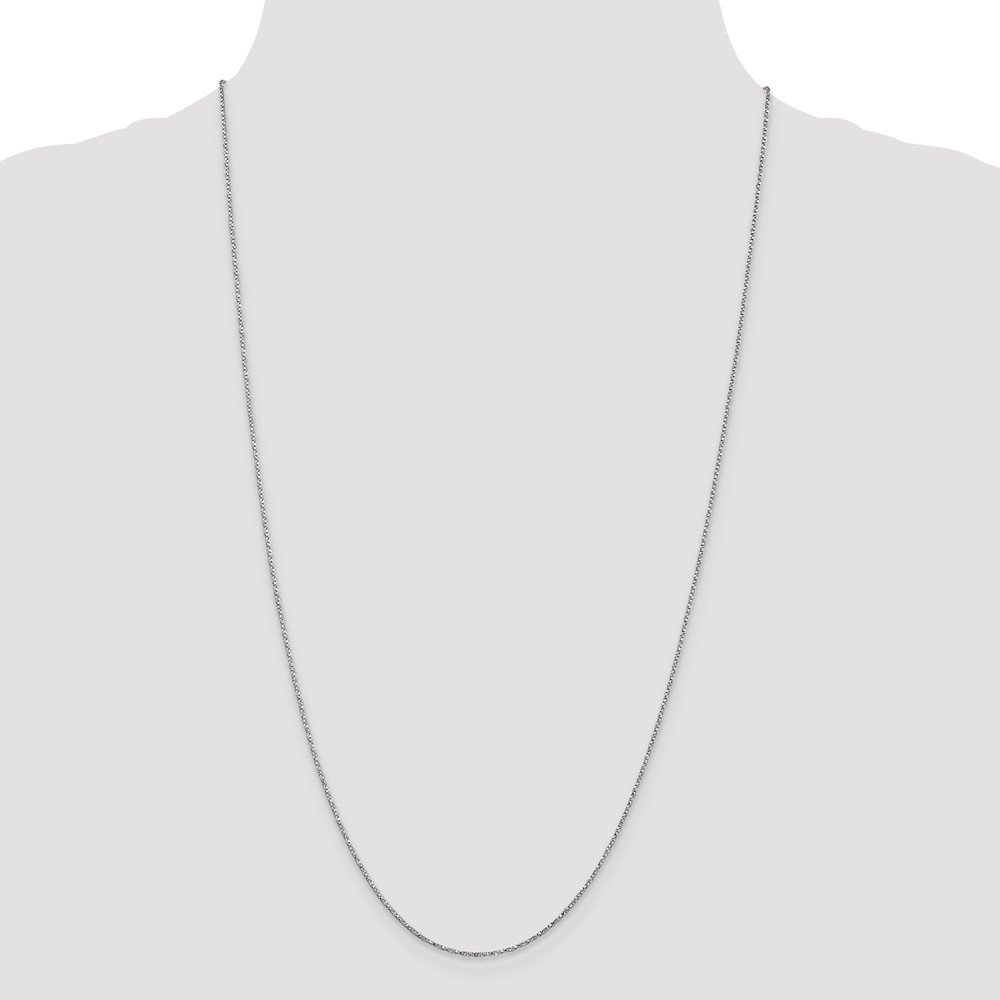 14K Yellow Gold .95mm Twisted Box Chain Necklace