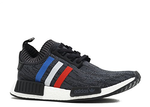 Shoes 750 Running (adidas Originals NMD_R1 PK Mens Running Trainers Sneakers Shoes Prime Knit (UK 4.5 US 5 EU 37 1/3, Core Black-Core Red-FTW White Bb2887))