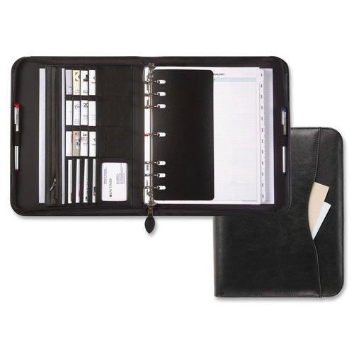 Starter Set Organizer, Zipper, 7 Ring, Folio 8-1/2