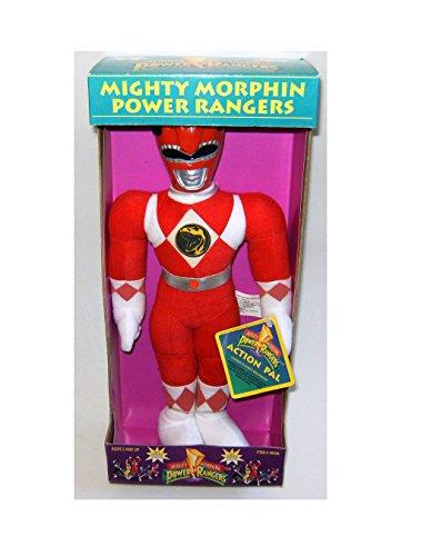 (Power Rangers Plush 12 Inch Action Pal Red Jason Figure)