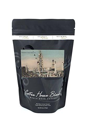 Dreamland Coney Island (Coney Island, NY - Dreamland Ride (8oz Whole Bean Small Batch Artisan Coffee - Bold & Strong Medium Dark Roast w/Artwork))
