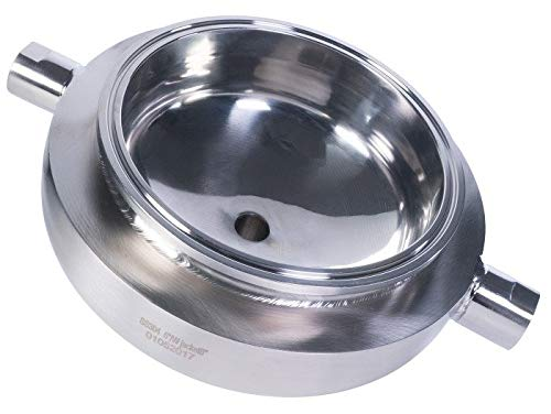 Best Value Vacs 12 Inch Jacketed Hemispherical Reducer