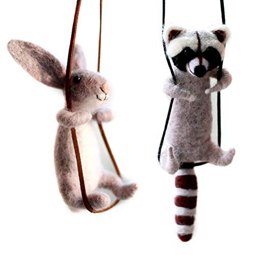 (Artec360 Raccoon and Rabbit Needle Felting Kits 4