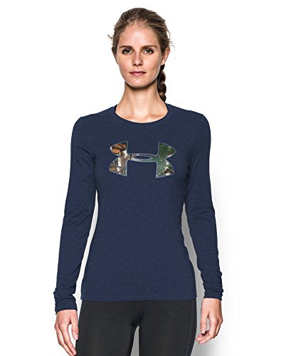 Under-Armour-Womens-Camo-Big-Logo-Long-Sleeve-T-Shirt