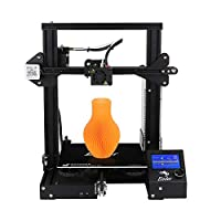 SOOWAY Creality Ender-3 3D Printer Economic Ender DIY Kits with Resume Printing Function V-Slot Prusa I3 220x220x250mm by Creality