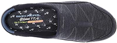Skechers Women's Commute - Carpool - Heathered Deco Stitch Mule