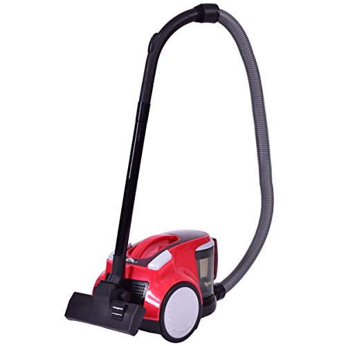 1200 W Upgraded Bagless Canister Cord Rewind Vacuum Cleaner w/HEPA Filtration CHOOSEandBUY