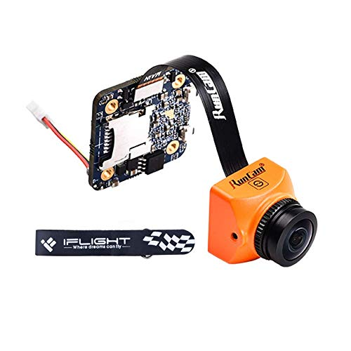 iFlight RunCam Split Mini 2 FPV Camera 1080P 60fps HD Recording with WDR Low Latency TV-Out Switchable 5-20V FOV 130° Recording FOV 165° for FPV Drone Quadcopter Multicopter