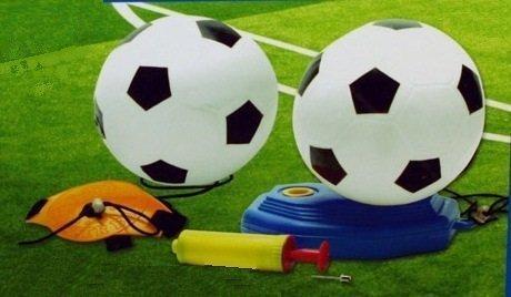 Sport Zone Kids Reflex Football Soccer Trainer Kit Swingball Set by Sportzone