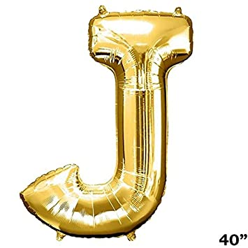 """40/"""" GOLD Letter W Mylar Foil Balloon 1 pc Party BackDrop Decorations Supply"""