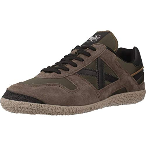 Sneaker Unisex Khaki grigio Goal Nero Scarpe U19mu10 Tessuto Kaki camoscio Munich n6AwO5x5