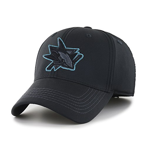 fitted san jose sharks hat - 7