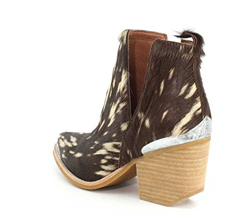 Jeffrey Campbell Womens Cromwell-F Boot Beige Brown Hair jp9yJZ