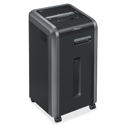 Fellowes Powershred 225i 100% Jam Proof 20-Sheet Strip-Cut Commercial Grade Paper Shredder (3322001) by Fellowes