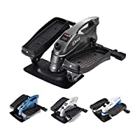 iDeer Life Dual Exercise Stepper, Sit and Stand Stepper, Under Desk Step Machine, Mini Elliptical Stepper with Large Pedal and Stable Base, Fitness Exercise Peddler for Home & Office Aerobic Workout