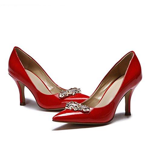 Kevin Fashion - Sandalias con cuña mujer Rojo - rojo