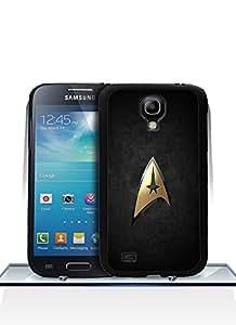 Cut Funda Case For S4 Mini, Lovely Brand Logo [Star Trek Logo] Unique [Shock-Absorption] Flexible Plastic Material Hard Funda Case Cover Fit For Samsung Galaxy S4 Mini