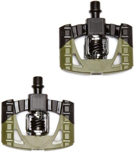 UPC 641300135650, Crank Brothers Mallet 1 Bike Pedal, Black/Green