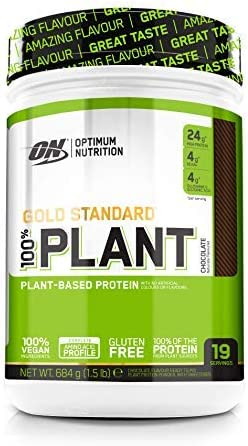 Optimum Nutrition 100% Plant Gold Standard, Proteina Vegana en Polvo, Proteinas Vegetales para Masa Muscular y Musculacion, Fuente de Vitamina C y ...