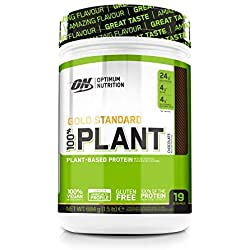 Optimum Nutrition ON 100%, Proteína Vegana en Polvo
