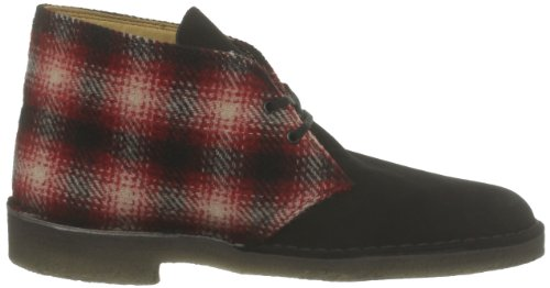Clarks Originals Stivali uomo Rosso (Rouge (Red Combi Woolrich))