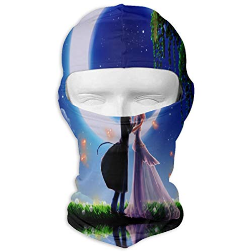 (Balaclava Anime Lovers Wallpapers Full Face Masks UV Protection Ski Cap Womens Headcover for Outdoor)