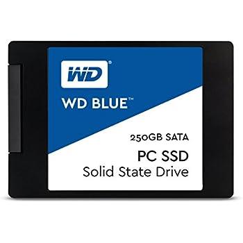 WD Blue 250GB PC SSD - SATA 6 Gb/s 2.5 Inch Solid State Drive -  WDS250G1B0A