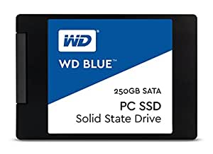 WD Blue 250GB PC SSD - SATA 6 Gb/s 2.5 Inch Solid State Drive -  WDS250G1B0A [Old Version]