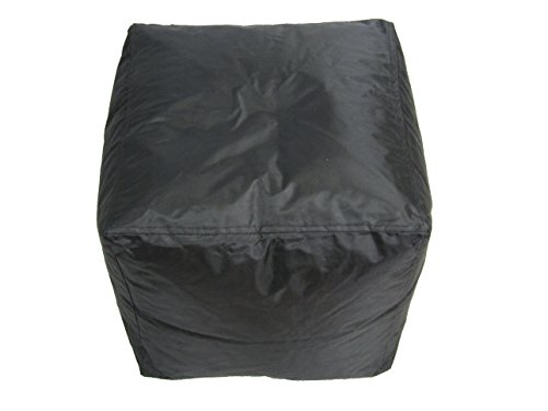 bean-bag-cube-ottoman-footstool-black-nylon-fabric-hand-filled-in-the-usa-16-x-16-x-16-inches-