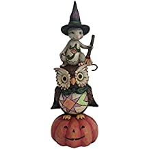 Enesco Jim Shore Heartwood Creek Pint Sized Stacked Owl/Mouse