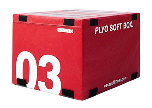 ESCAPE Plyobox Plyosoftbox Level 3, Rot, PLYOS03G
