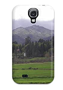 Special Design Back Serra Geres Portugal White Clouds Blue Green Grass Woods Nature Other Phone Case Cover For Galaxy S4